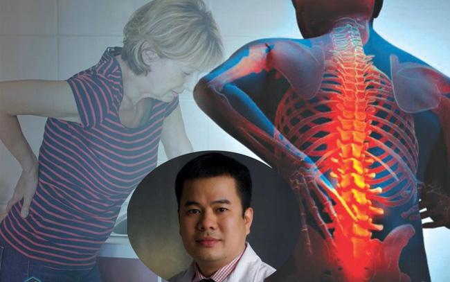 Có tới 30% người Việt mắc căn bệnh thoát vị đĩa đệm: