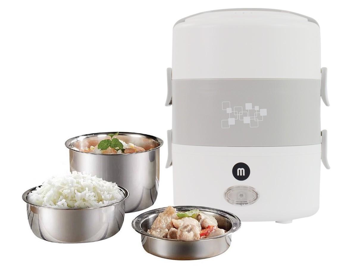 Hộp hâm nóng thức ăn Mishio MK-182 inox 304